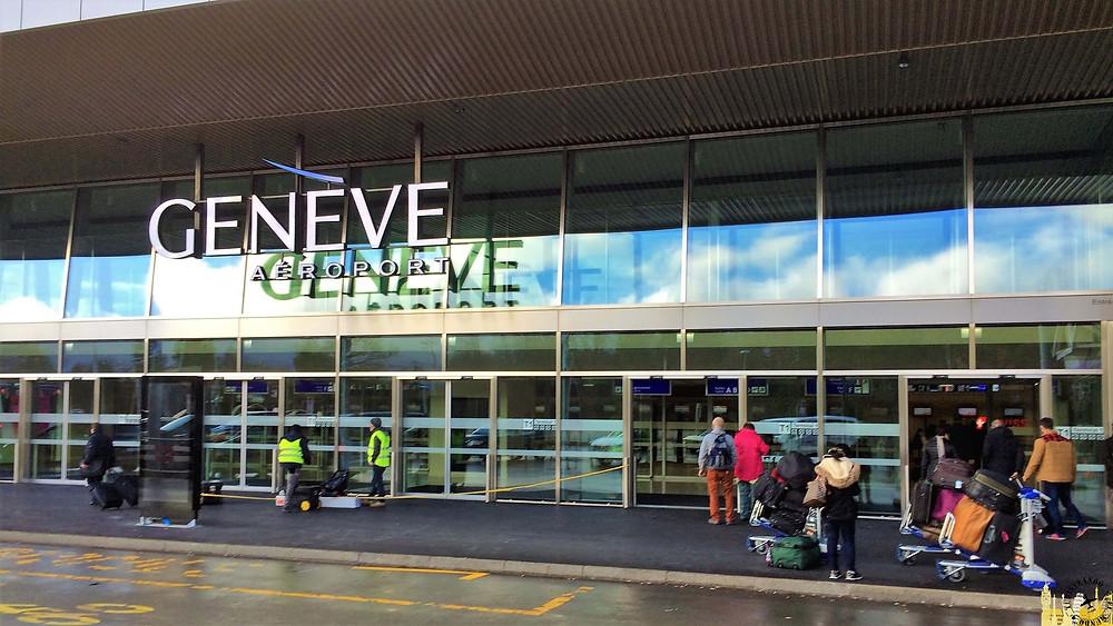 Aeropuerto de  Ginebra (Suiza)