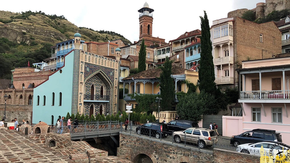 Barrio antiguo de Tbilisi