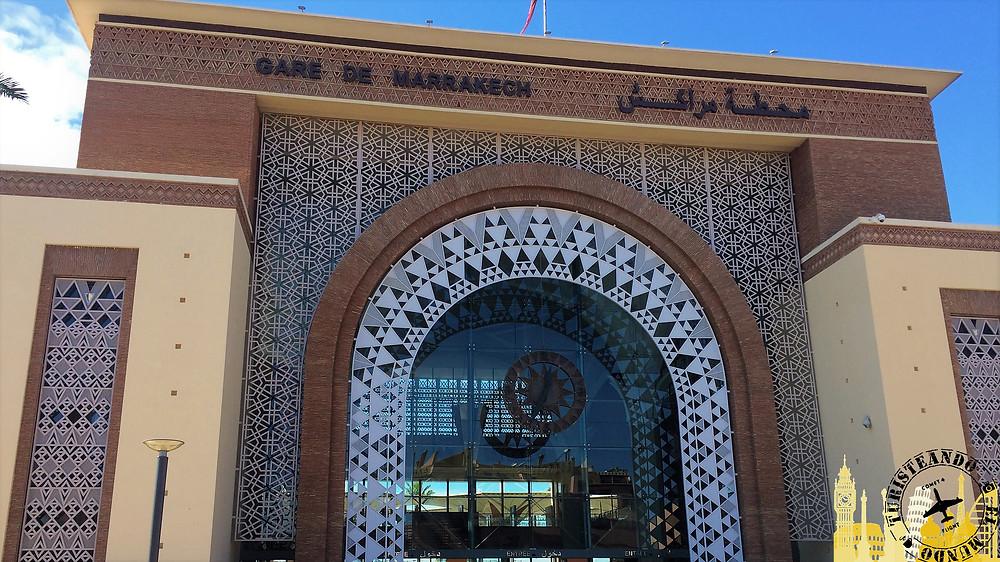 Estación de tren, Marrakech (Marruecos)