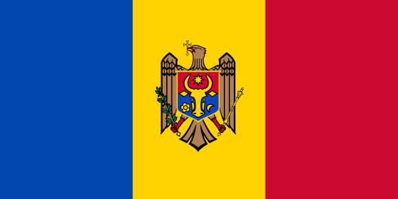 Moldavia. Bandera