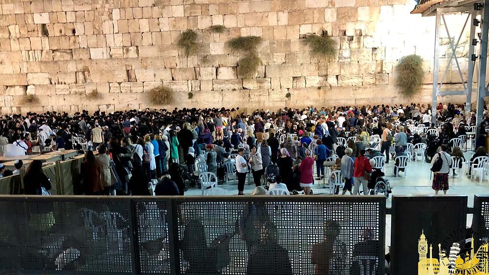 Jerusalén. Muro de las Lamentaciones