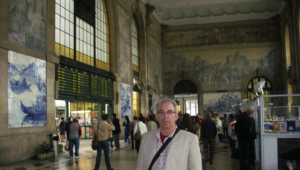 Estación De Tren de San Benito. Oporto (Portugal)