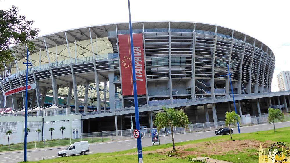 Estadio de la Fuente Nova. Salvador de Bahía (Brasil)
