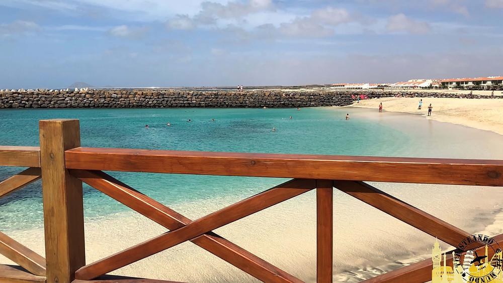 Isla de la Sal (Cabo Verde). Playa de Algodoeiro