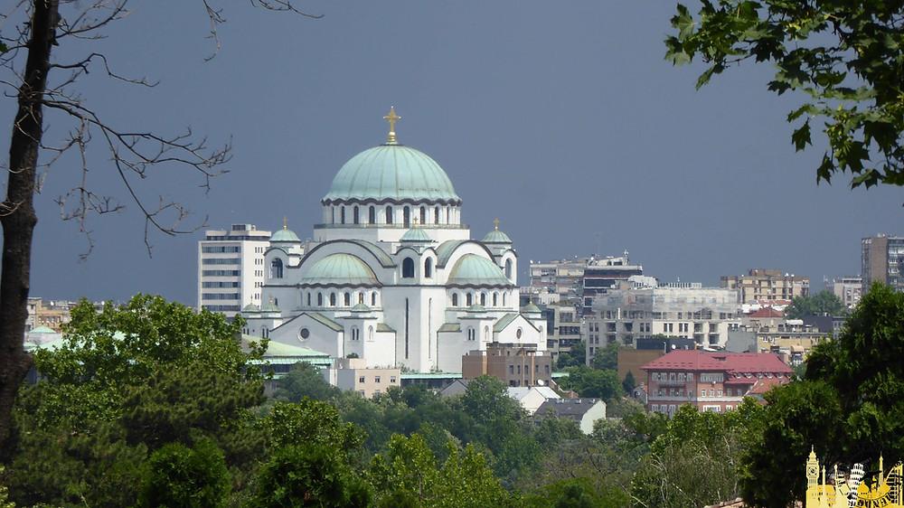 Iglesia San Sava. Belgrado