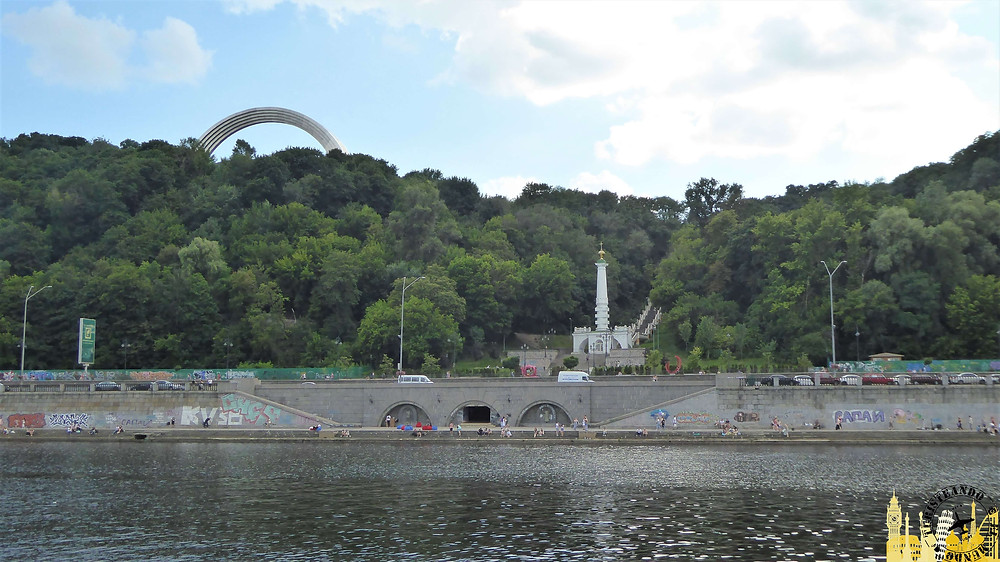 Río Dniéper, Kiev (Ucrania)