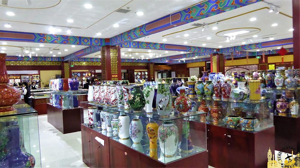 Cerámica de clomanoise, China