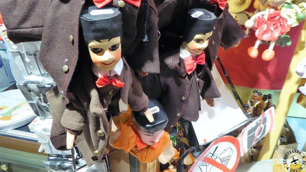 Marionetas de guiñol, Lyon (Francia)