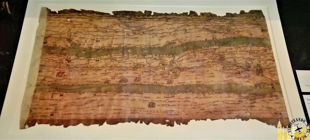Tabula Peutingeriana. Biblioteca Nacional Austriaca