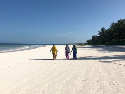 Playas de Zanzíbar (Tanzania). Paraíso africano