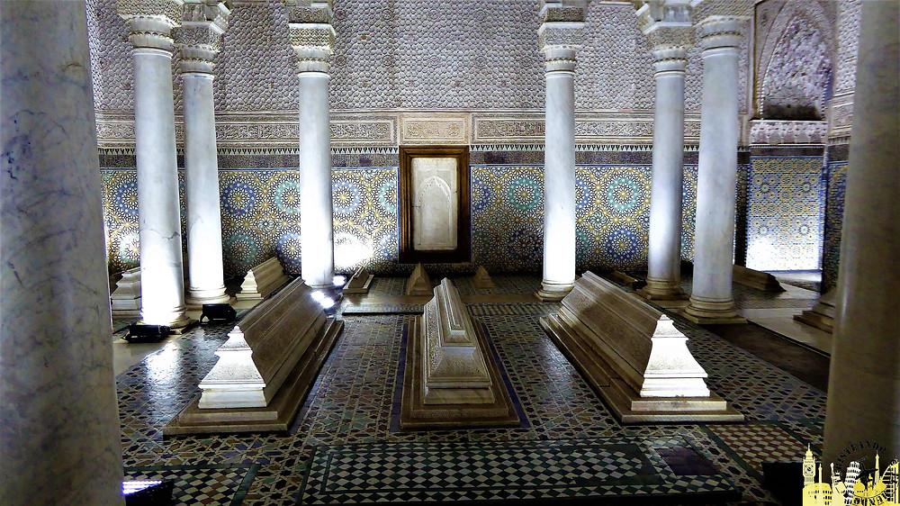 Tumbas Saadies, Marrakech (Marruecos)