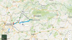 Ruta Bratislava-Banska Stiavnica