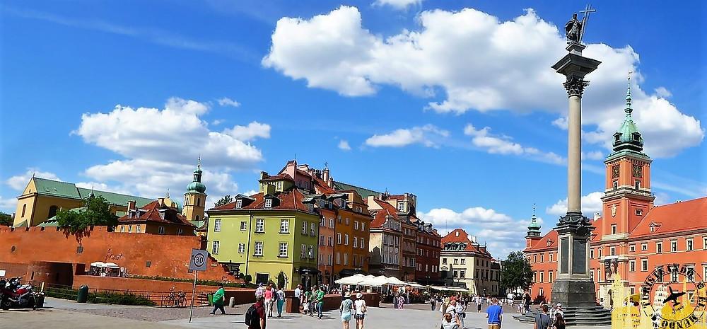 Plaza del Castillo,Varsovia (Polonia)