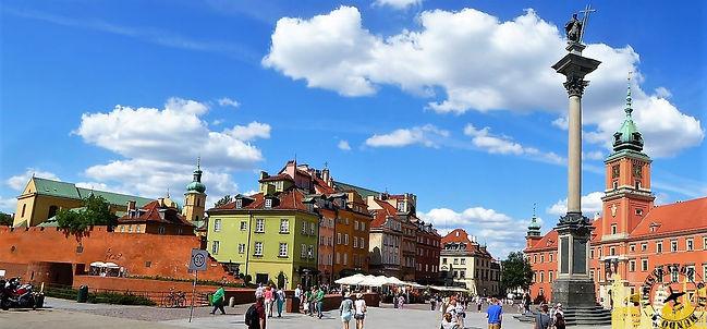Escala en Varsovia (Polonia)
