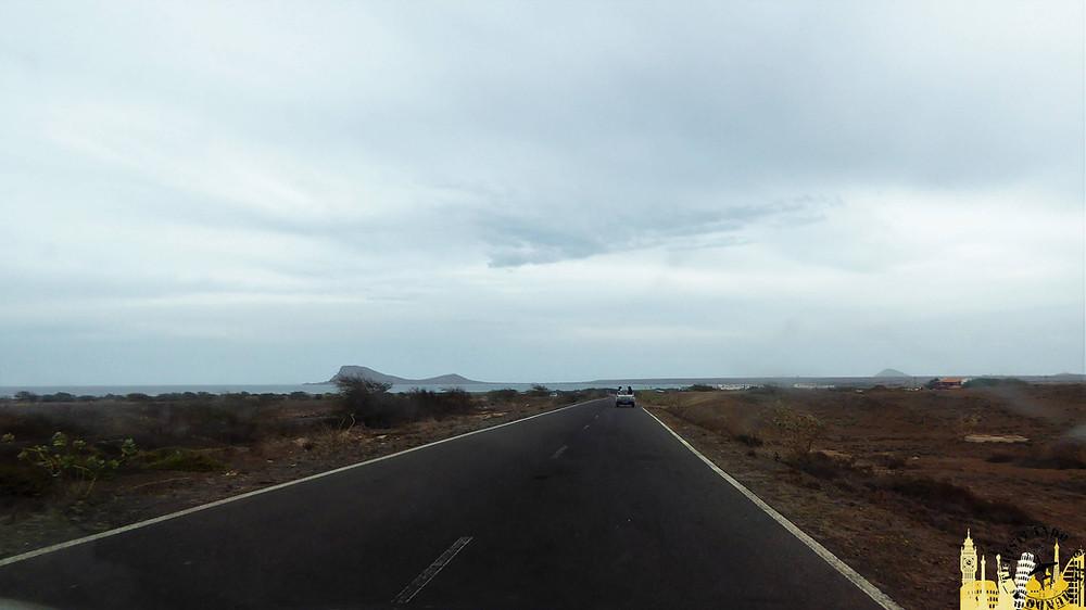 Cabo Verde. Carretera