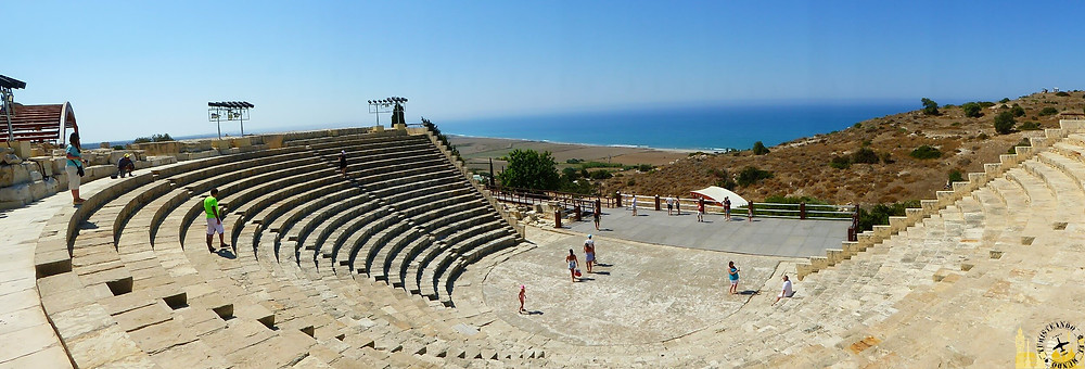 Teatro de Kourion, Limasol (Chipre)