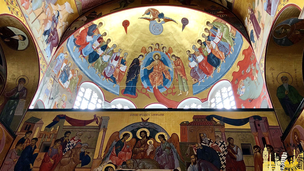 Catedral ortodoxa Resurreción de Jesús. Podgorica (Montenegro)