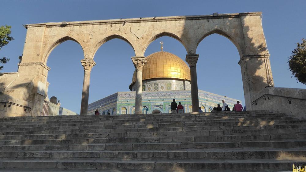 Jerusalén. Explanada Mezquitas