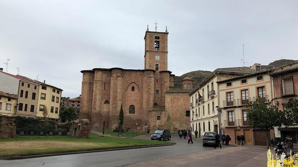 Monasterio de Santa María La Real  en Nájera, La Rioja