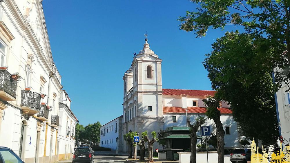 Convento e Iglesia de los Agustinos. Vila Viçosa
