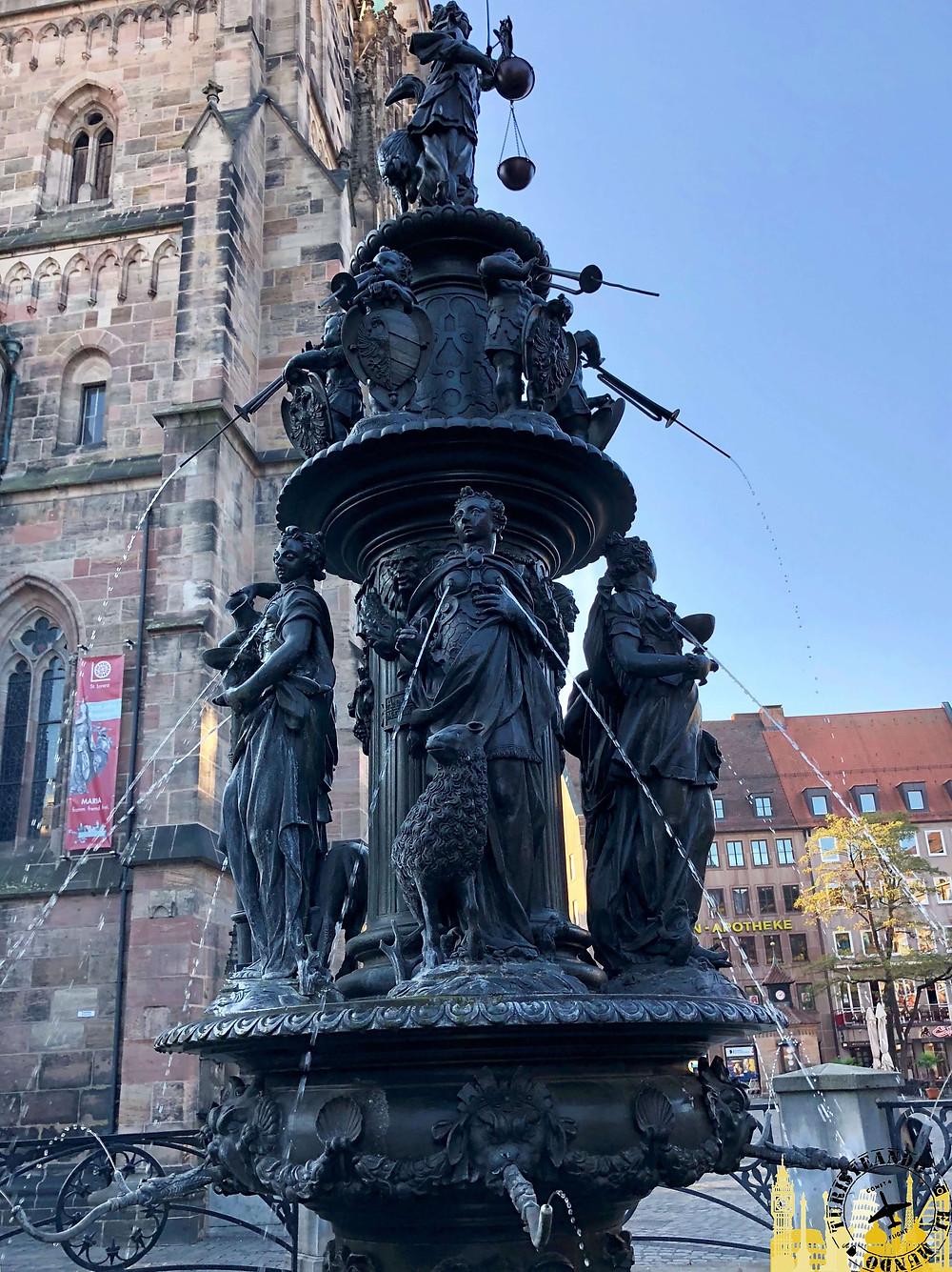 Nüremberg (Alemania). Fuente de la virtud