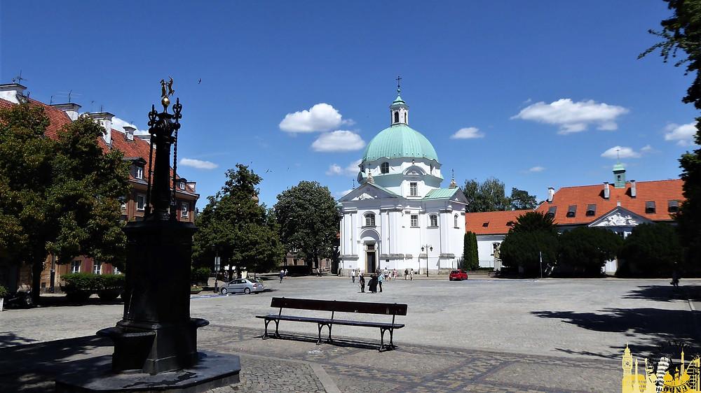 Iglesia de San Casimiro, Varsovia (Polonia)