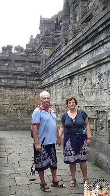 Estupas Templo de Borobudur (Java)