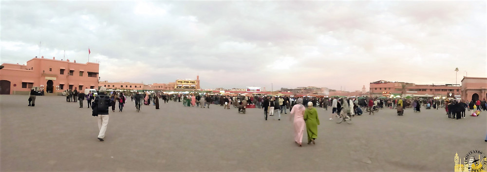 Plaza Yemaa el-Fna, Marrakech (Marruecos)