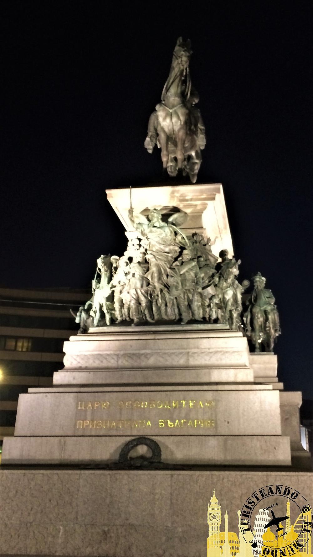 Monumento Zar Libertador (Sofía-Bulgaria)