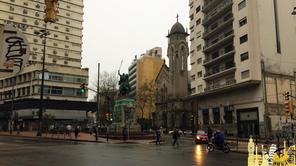 Monumento al Gaucho. Montevideo (Uruguay)