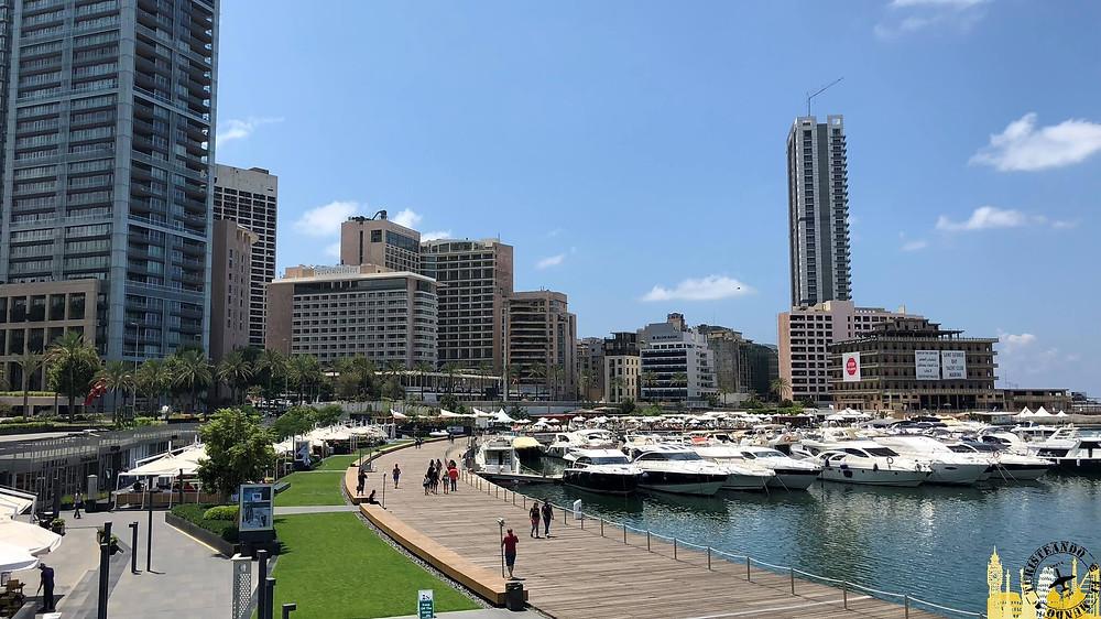 Beirut. Puerto deportivo (Líbano)