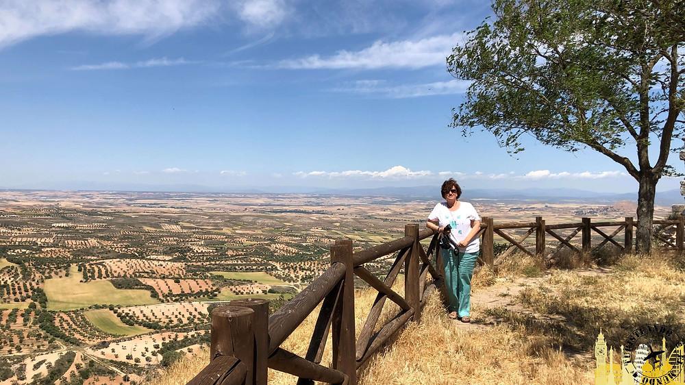 Mirador la Alcarria en Trijueque, Guadalajara (España)