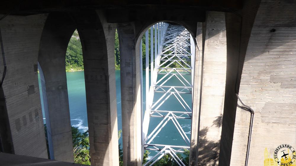 Pont Rainbow. Niágara (Canadá)