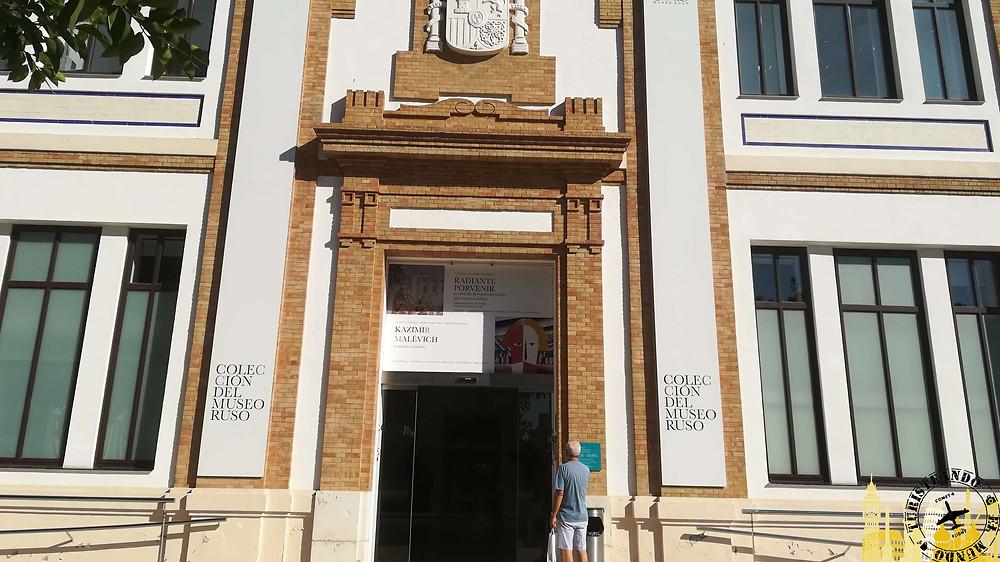 Edificio de la Tabacalera en Málaga, España