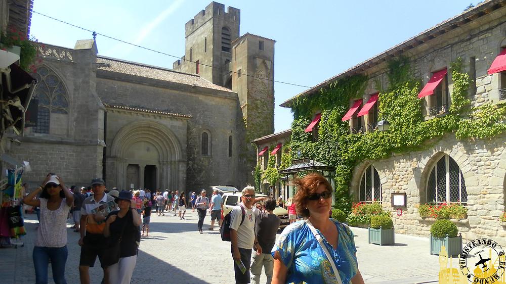 Basilica de Saint Nazaire. Ciudadela medieval de Carcassonne