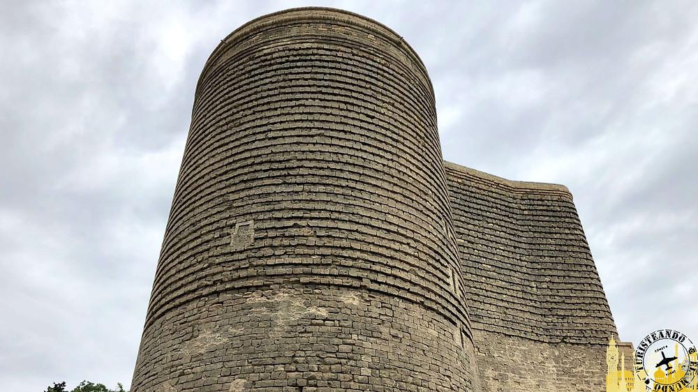 Torre de la Doncella en Bakú, Azerbaiyán