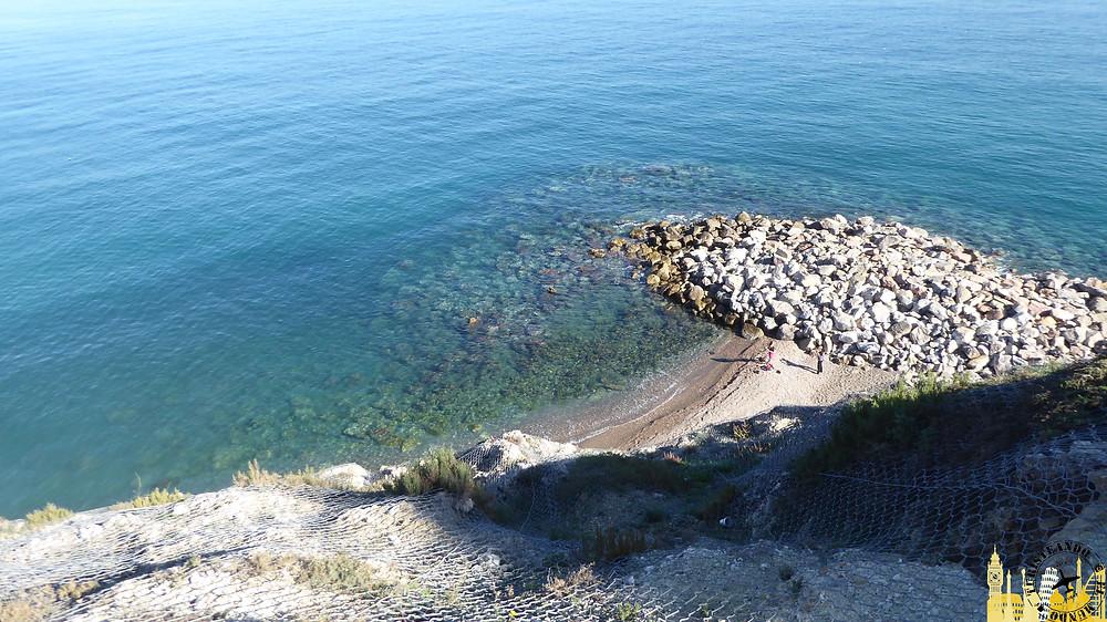 Melilla (España). Playa de la Alcazaba