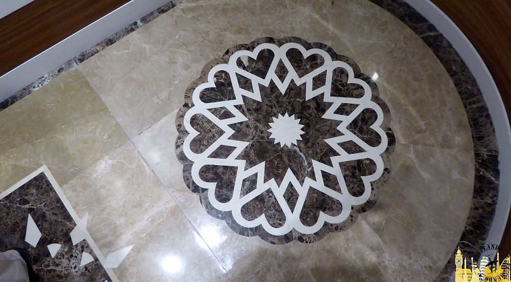 Suelo marmol hotel Bidd,  Doha, Qatar