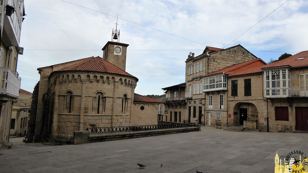 Plaza Mayor de Allariz (Ourense-España)