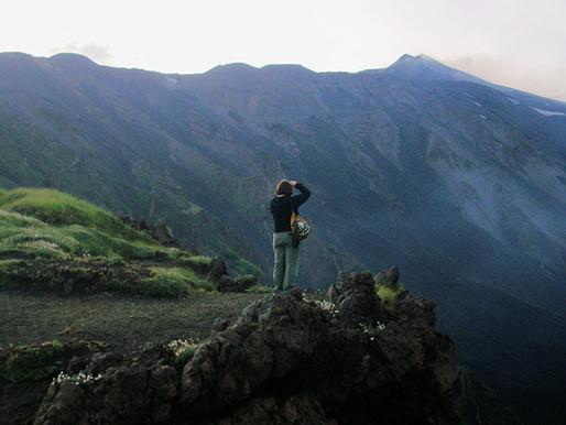 El volcán Etna (Unesco). Sicilia (Italia)