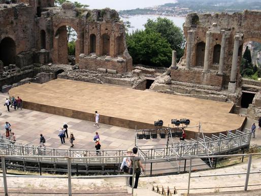 Taormina (UNESCO), la joya turística de Sicilia (Italia)