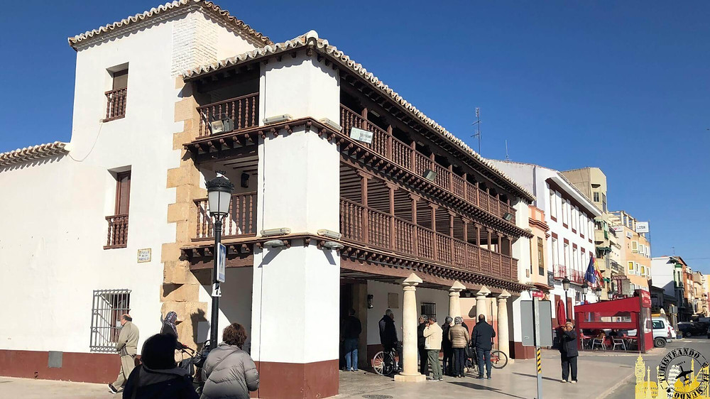 Tomelloso (Castilla la Mancha). Posada de los Portales