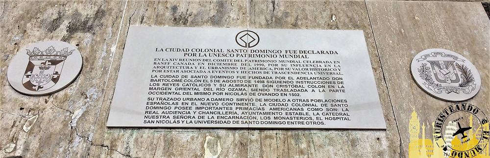 Plaza de España. Santo Domingo (Rep. Dominicana)