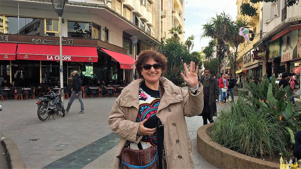 Casablanca (Marruecos). Plaza 16 de Noviembre