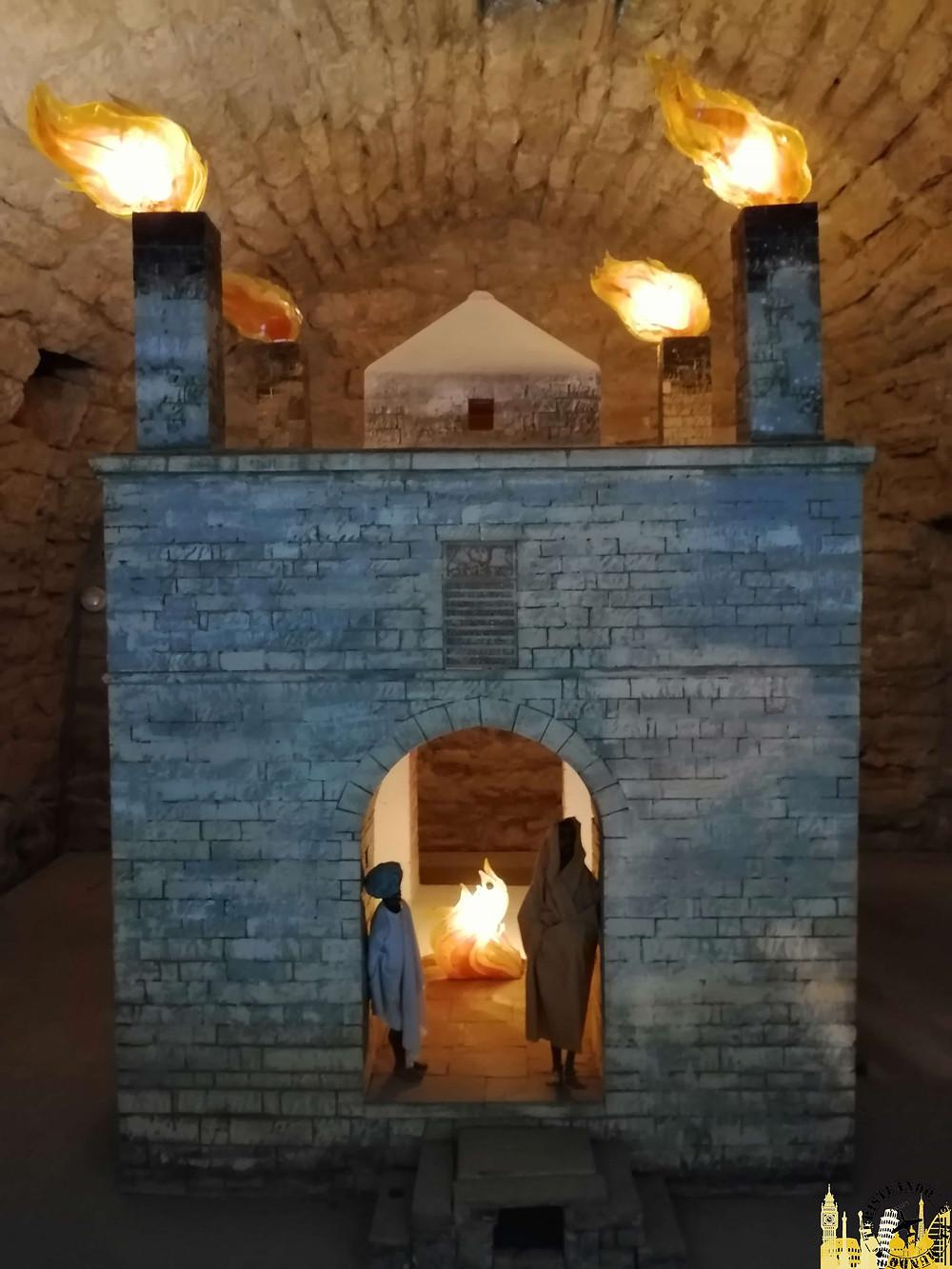 Templo de Ateshtag, Azerbaiyán