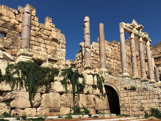 Baalbek, colosal ciudad romana (Unesco). Líbano