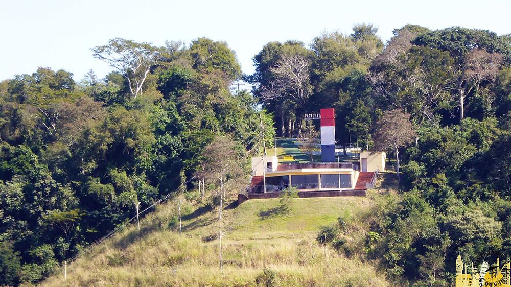 Hito tres fronteras (Paraguay). Río Paraná