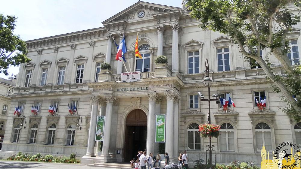 Hôtel de Ville. Avignon (Francia)