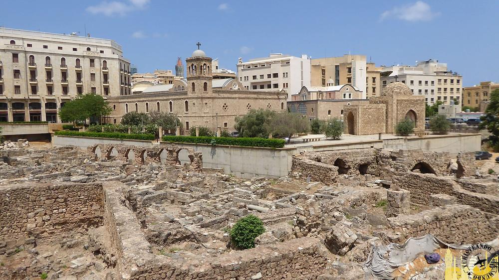 Beirut. Termas Romanas