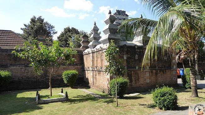 Baños árabes Antiguo Palacio real Kota Gede (Java)
